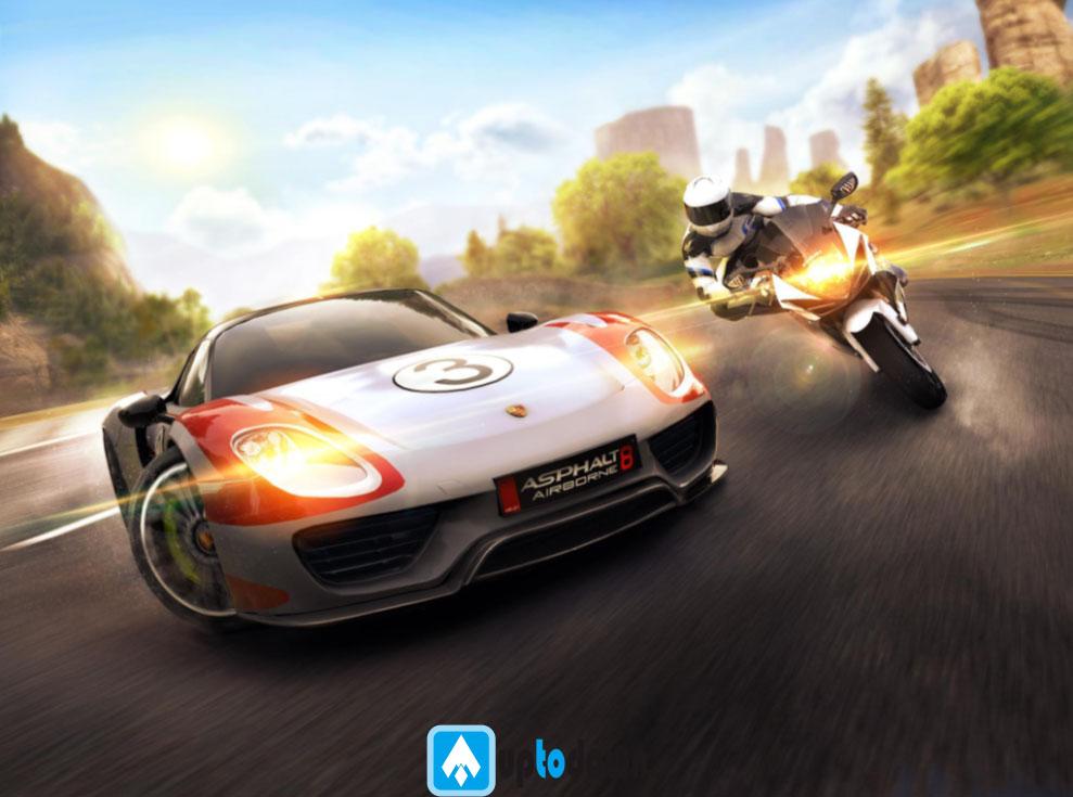 download asphalt 8 mod apk andropalace