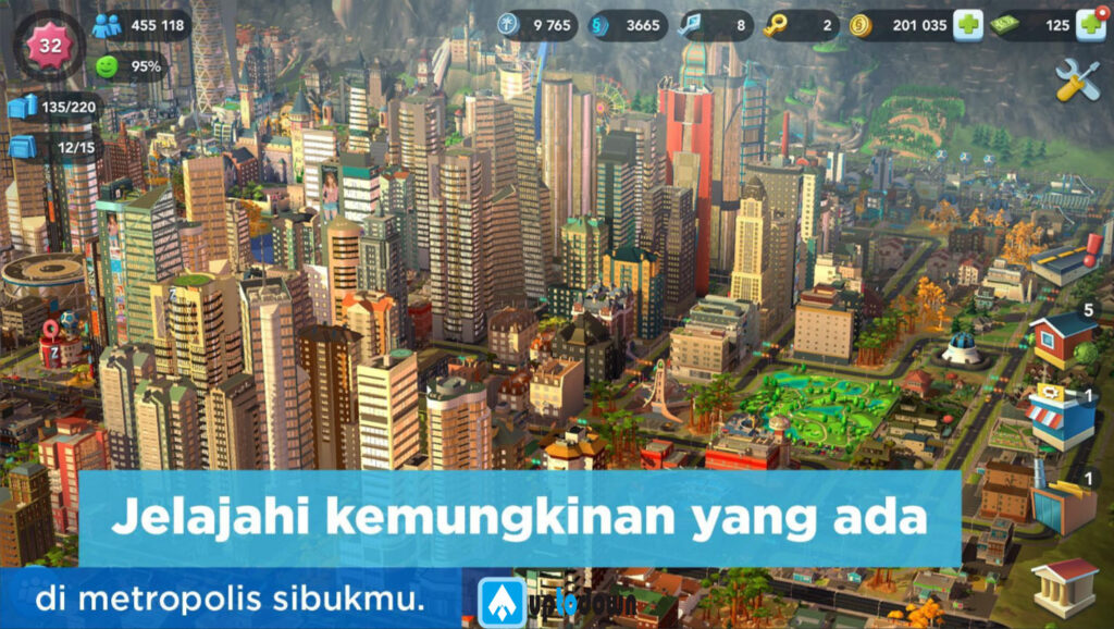 download simcity mod apk