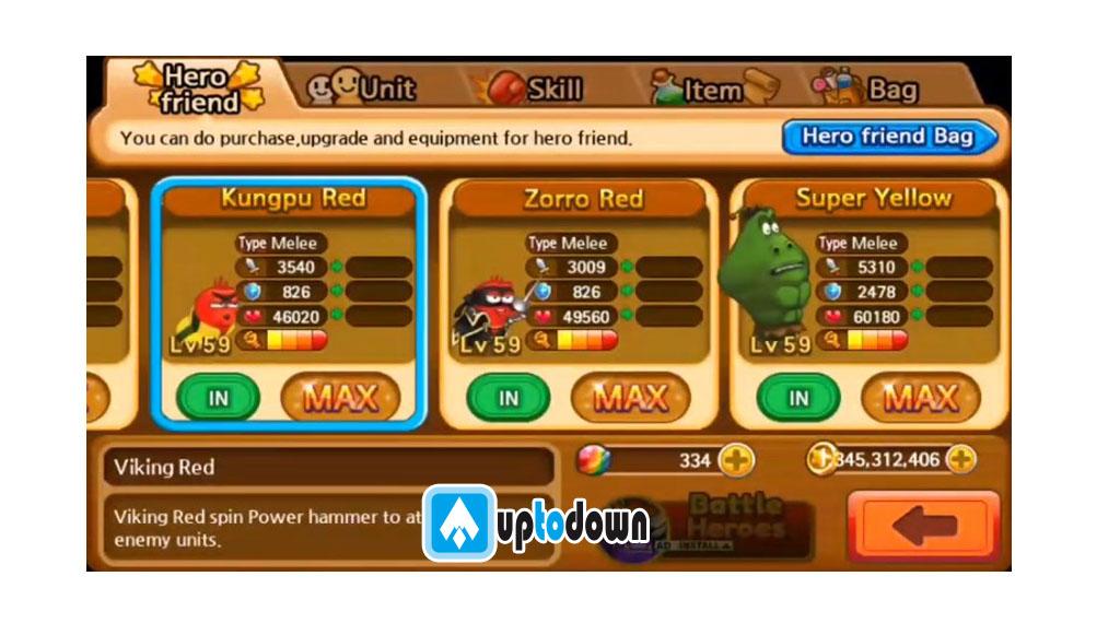 larva-heroes-mod-apk