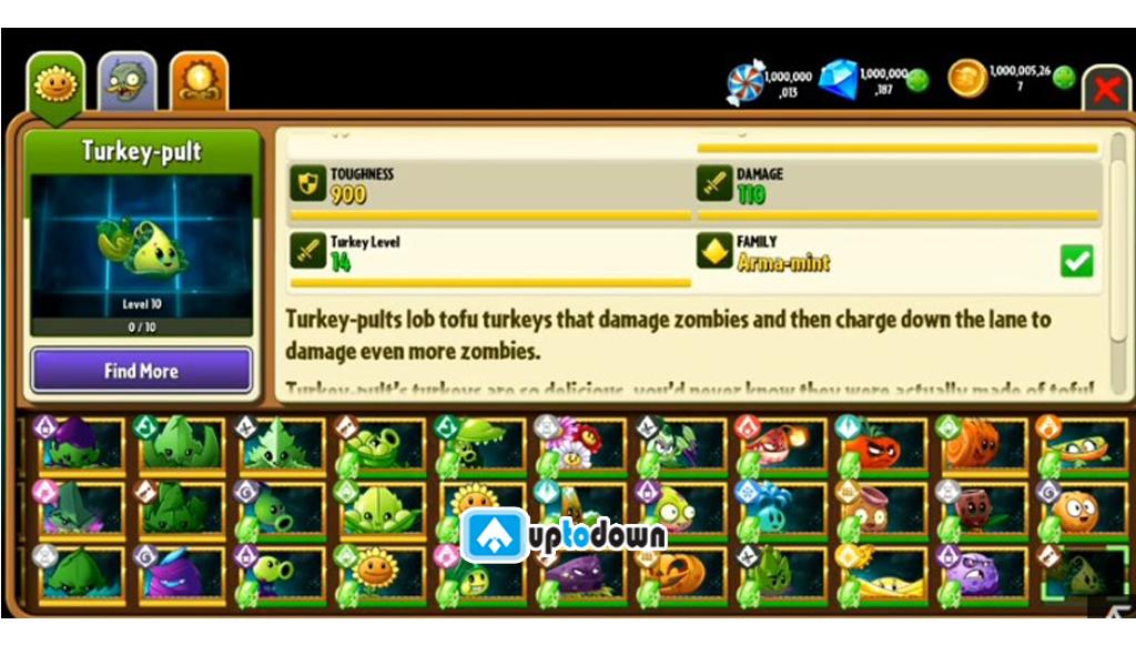 Plants vs Zombie 2 Mod
