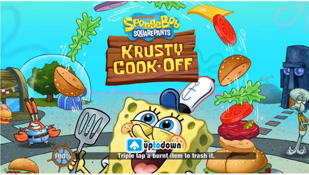 Spongebob Krusty Cook Off Mod