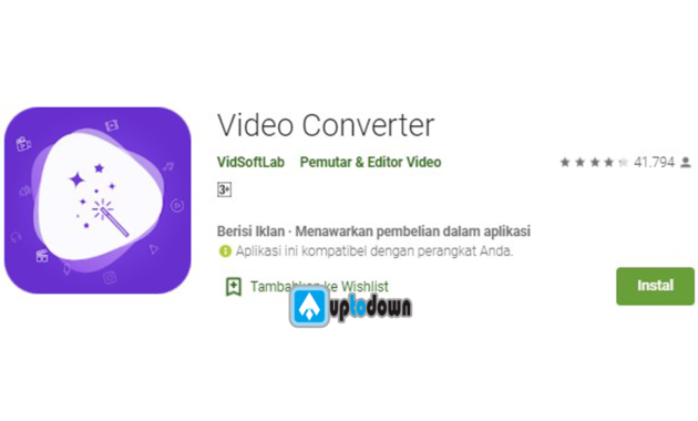 Aplikasi Converter Video