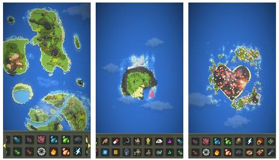 Fitur Sandbox God Simulator