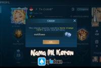 Nama ML Keren