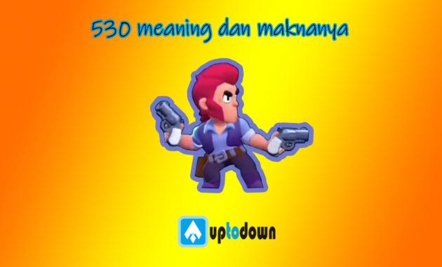 530 meaning dan maknanya