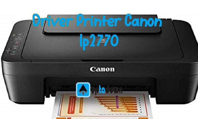 Kelebihan Printer Canon Ip2770
