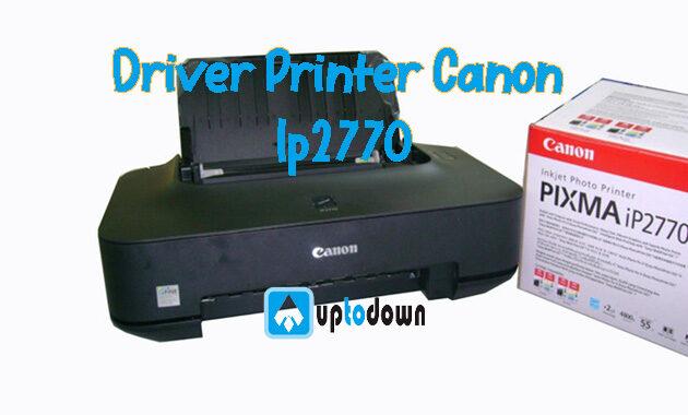 Cara Instal Driver Printer Canon Ip2770 Langsung Tanpa CD