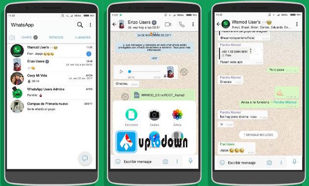 Mengenal berbagai fitur menarik dari Fouad WhatsApp