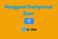 Ganti backround Zoom