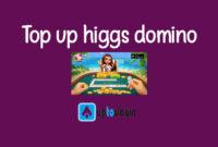 Top Up Higgs Domino Island Menggunakan e-Commerce atau Marketplace